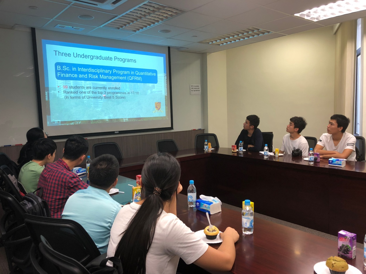 School of Mathematical Sciences,ZJU delegation visits CUHK and HKUST